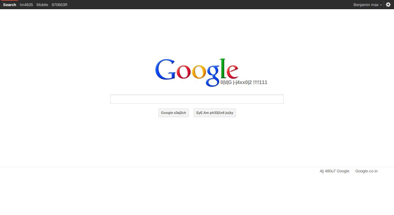 Google : I'm Feeling Lucky – Technology Depot Google