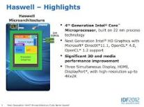 Intel 4th Generation Processor Specification