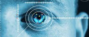 Security through Retina Identification