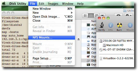 Mac partition manager in OS X v10.8 Mountain Lion