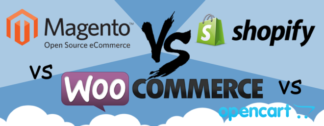 Comparison of Odoo VS WordPress Vs Magento vs Woocommerce